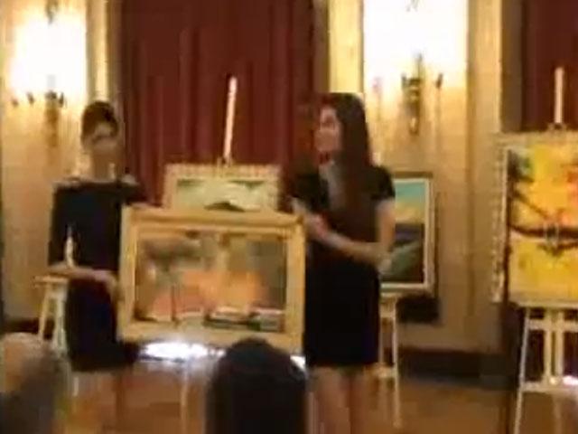Humanitarna aukcija slika umetnika trećeg doba
