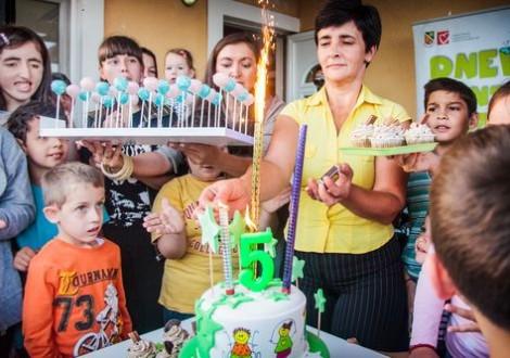 Деца из Дневног центра била су креатори и домаћини прославе малог јубилеја