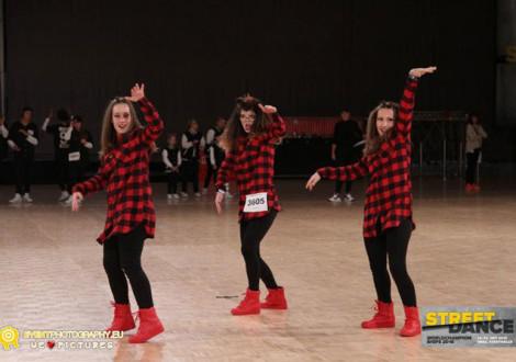 """Чланице плесне групе """"Блу Шел"""" освојиле су треће место на Светском такмичењу у плесу у категорији хип-хоп за особе са инвалидитетом"""