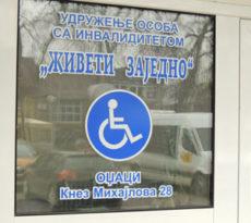 Foto: Beoinfo / Promo Parking za osobe sa invaliditetom