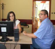 Обука за рад рачунарима са говорним програмом за слепе и слабовиде, Ранко Вуковић из Савеза Краљева и Божана Марковић