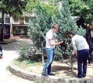 Uređenje javnih površina u gradu na Lepenici