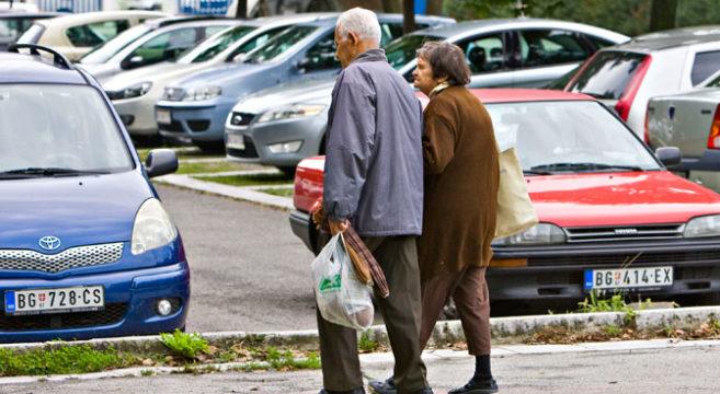 Већина пензионера може себи да приушти само основне животне намирнице (Фото Д. Јевремовић)