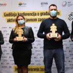 HUMANOŠĆU MENjAJU SVET: Nagrada pokretač promena organizaciji Čepom do osmeha