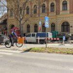 Семафор ниче и на пешачком прелазу у Јеврејској улици